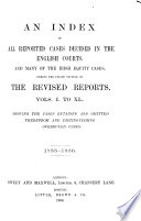 The Revised Reports