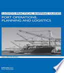 Port Operations  Planning and Logistics Book