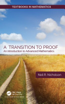 A Transition to Proof