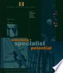 Unlocking Specialist Potential Book