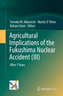 Pdf Agricultural Implications of the Fukushima Nuclear Accident (III) Telecharger