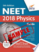 (SAMPLE) NEET 2018 Physics Guide - 5th Edition
