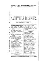 Nashville Directory