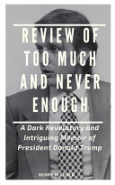 Review of Too Much and Never Enough