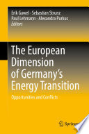 The European Dimension of Germany's Energy Transition