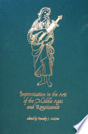 Improvisation in the arts of the Middle Ages and Renaissance