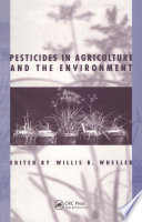 Pesticides In Agriculture And The Environment Book PDF