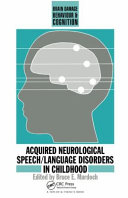 Acquired Neurological Speech Language Disorders In Childhood