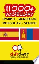 11000  Spanish   Mongolian Mongolian   Spanish Vocabulary