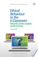 Ethical Behaviour in the E Classroom