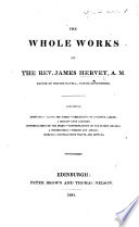 The Whole Works Of J  H