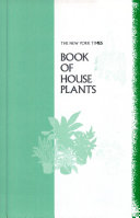 The New York times book of house plants
