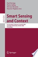 Smart Sensing and Context