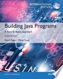Building Java Programs, International Edition
