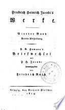 Friedrich Heinrich Jacobi's werke