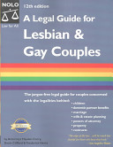 Legal Guide for Lesbian and Gay Couples
