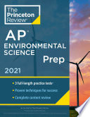Princeton Review AP Environmental Science Prep  2021 Book