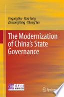 The Modernization of China's State Governance