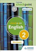 Books - Checkpoint English Wb 2 | ISBN 9781444184426