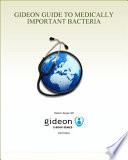 Gideon Guide To Medically Important Bacteria Book PDF
