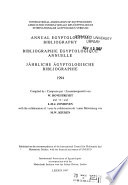 Annual Egyptological Bibliography