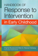 Handbook of Response to Intervention in Early Childhood Book