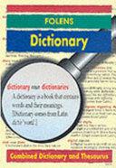 Folens Dictionary