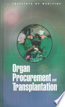 Organ Procurement and Transplantation