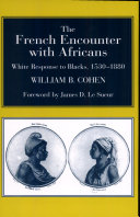 Pdf The French Encounter with Africans