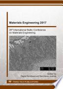 Materials Engineering 2017