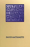 Cultural Influences on Research Methods and Statistics