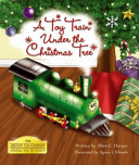 A Toy Train Under The Christmas Tree