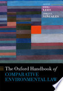 """Oxford Handbook of Comparative Environmental Law"" by Emma Lees, Jorge E. Viñuales"