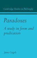 Pdf Paradoxes