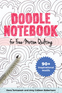Doodle Notebook for Free Motion Quilting