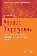 Aquatic Biopolymers Book