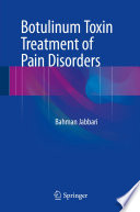 Botulinum Toxin Treatment of Pain Disorders Book