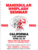 Mandibular Whiplash The Book Book PDF