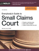 link to Everybody's guide to small claims court in the TCC library catalog
