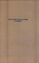 The Danish-language Press in America