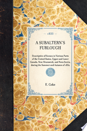 Download Subaltern's Furlough Free Books - manybooks-pdf