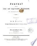 Journal Für Die Reine Und Angewandte Mathematik, 1878, Vol. 84 (Classic Reprint)