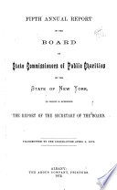 Annual Report of the State Board of Charities of the State of New York Book