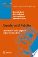 Experimental Robotics