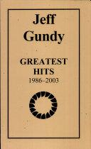 Jeff Gundy Greatest Hits