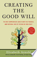 Creating the Good Will