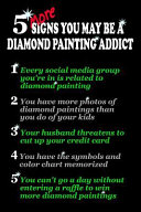 5 More Signs You May Be a Diamond Painting Addict   expanded Version  Log Book to Track DP Art Projects