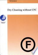 Dry Cleaning Without CFC Book