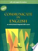 Communicate Eng  4 Book