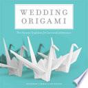 Wedding Origami